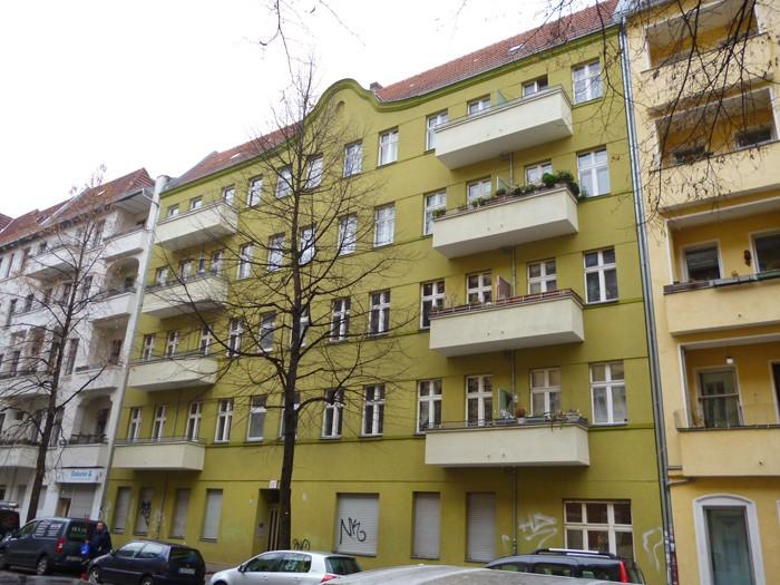 Schönes Altbaugebäude im Schillerkiez in Neukölln