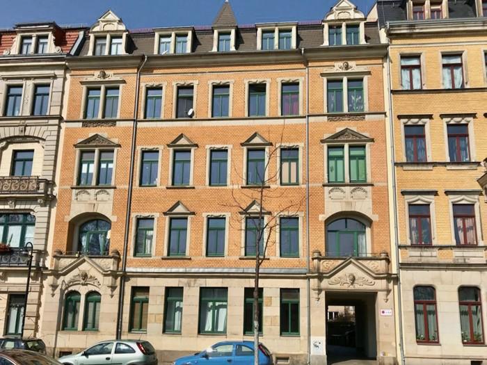 Denkmalgeschütztes Mehrfamilienhaus in Dresden