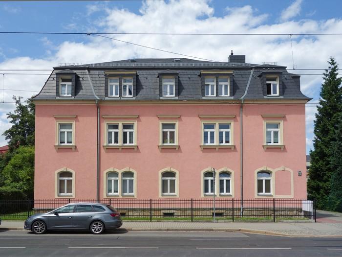 Sanierter Altbau in Dresden Coschütz