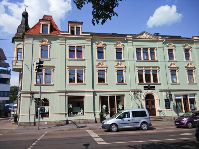 Historischer Altbau in Radebeul