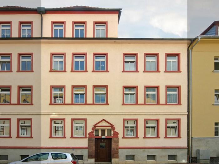 Modernisiertes Mehrfamilienhaus aus 1914 in Leipzig
