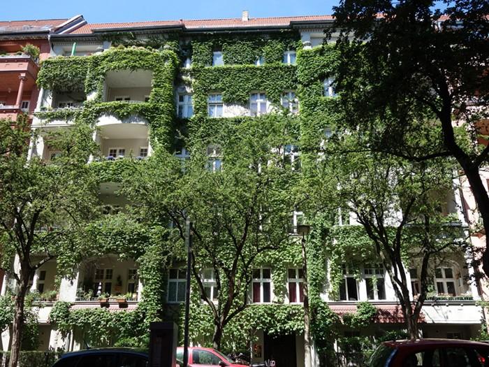 Denkmalgeschützter Altbau in Berlin Friedrichshain